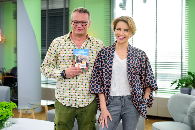 Marcin Meller z żoną Anną Dziewit-Meller /Tomasz Urbanek /East News