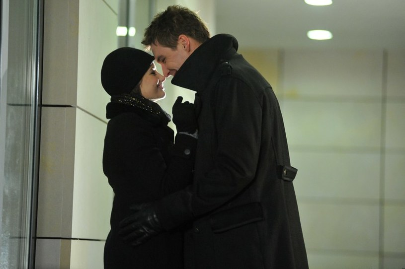 Marcin (Mikołaj Roznerski) i Kasia (Agnieszka Sienkiewicz) /Agencja W. Impact