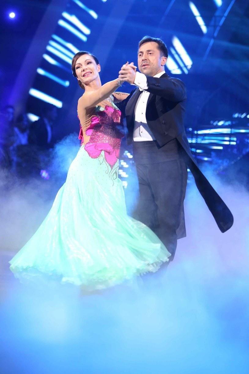 Marcin Miller w duecie z Nina Tyrką /WBF /Polsat