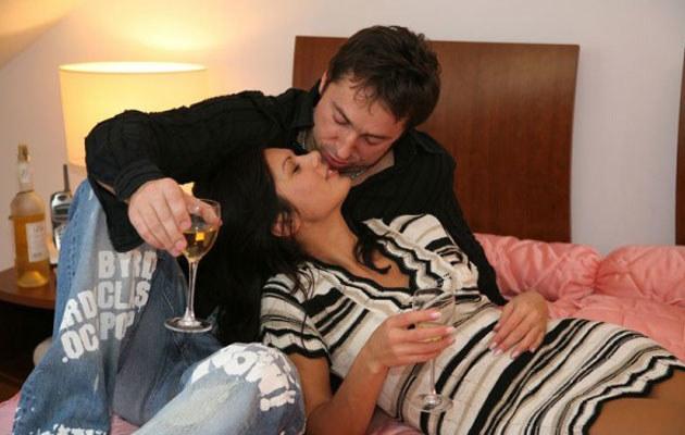 Marcin Miller z żoną
