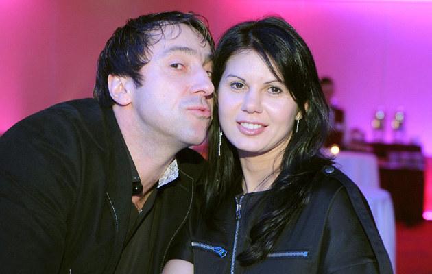 Marcin Miller z żoną /Piotr Fotek/REPORTER /East News