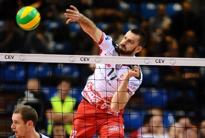 Marcin Możdżonek, siatkarz Asseco Resovii /Marek Dybas /East News