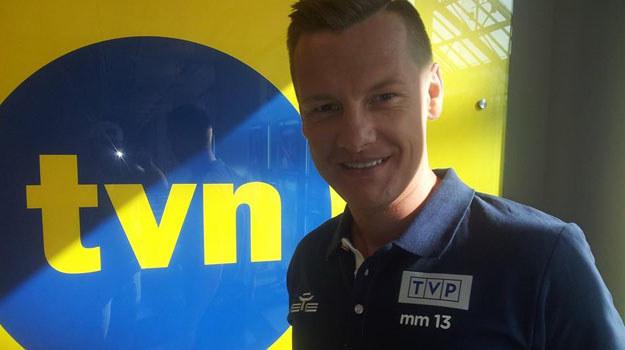 Marcin Mroczek zagra w drużynie TVP /Facebook /internet