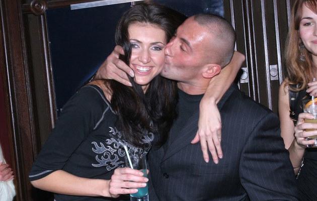 Marcin Najman i Ewa Byzdra-Saleta w 2006 roku, fot. Warda  /MWMedia