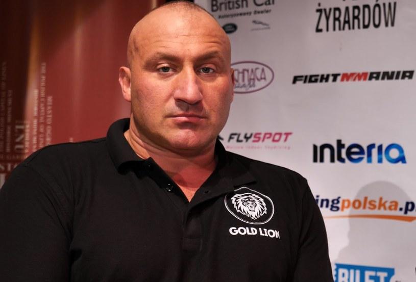 Marcin Najman nie skreśla Artura Binkowskiego /INTERIA.PL
