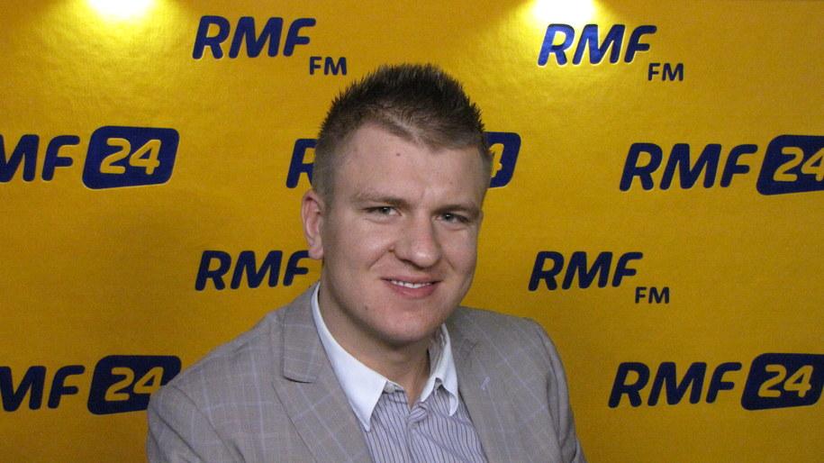 Marcin Nitschke  - pomysłodawca zawodów /Patyk Serwański /RMF FM