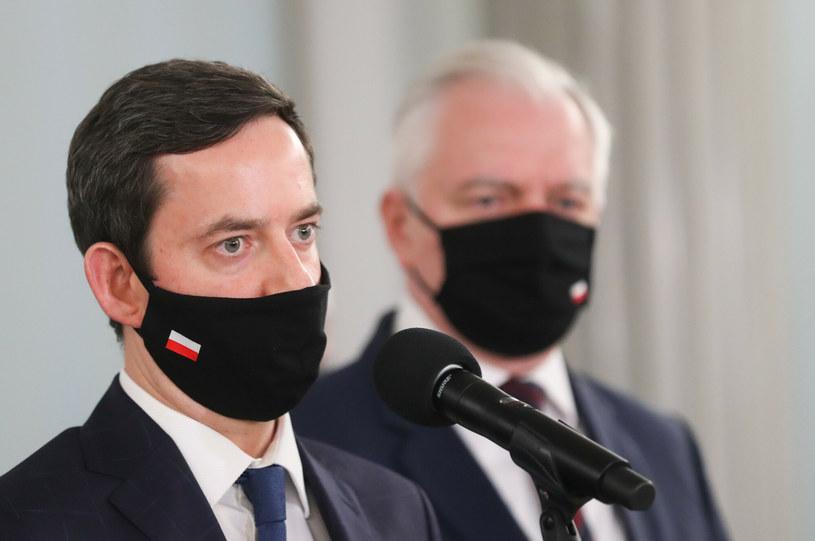 Marcin Ociepa i Jarosław Gowin /Andrzej Iwańczuk/Reporter /East News