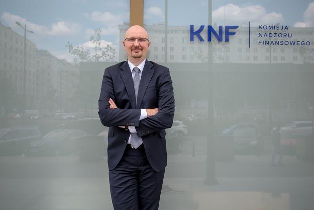 """Marcin Pachucki, p.o. przewodniczącego KNF. Fot. Marek Wiśniewski """"Puls Biznesu"""" /FORUM"""