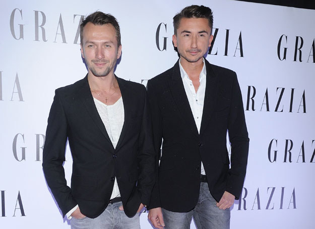 Marcin Paprocki i Mariusz Brzozowski /Jaroslaw Antoniak /MWMedia