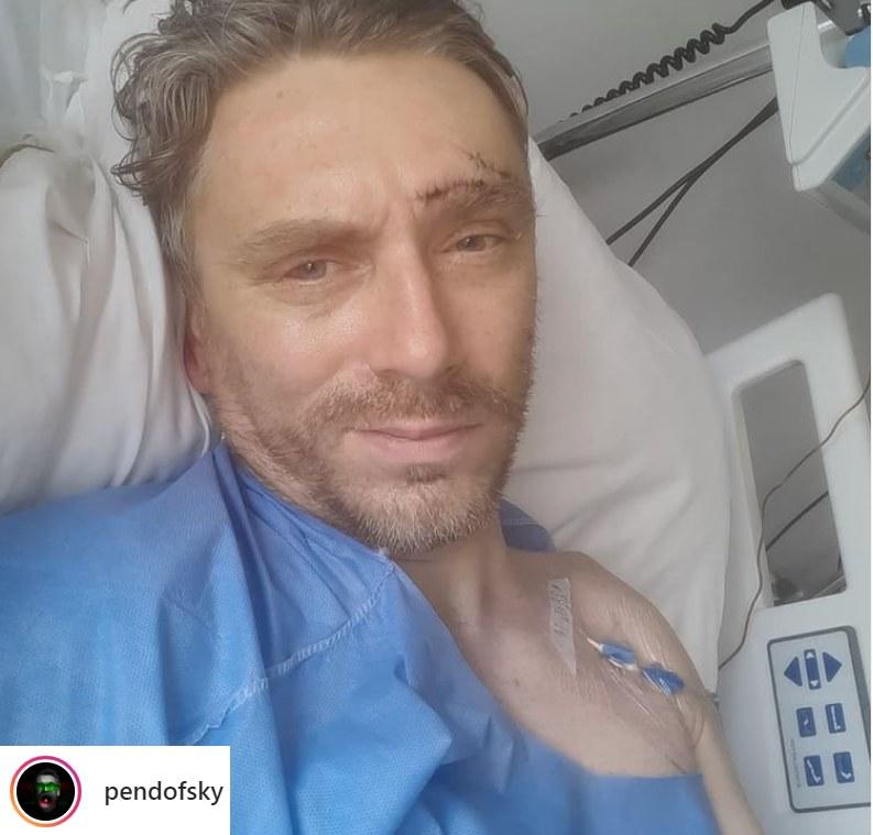 Marcin Pendowski miał groźny wypadek na motorze! / Foto: Instagram/pendofsky /Instagram