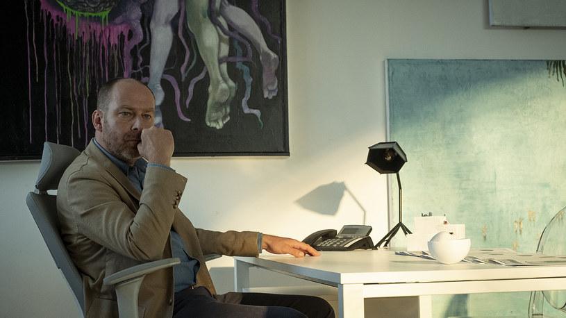 """Marcin Perchuć dołąćzył do obsady """"Ultravioletu"""" /  AXN /materiały prasowe"""