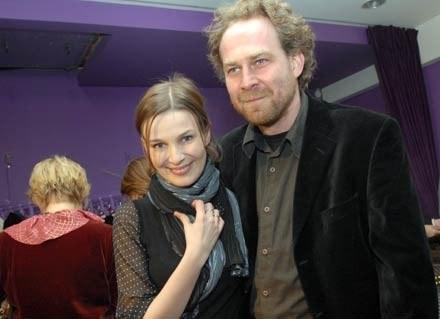 Marcin Perchuć z żoną/fot. Marek Ulatowski /MWMedia