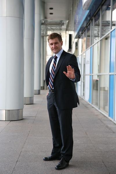 Marcin Piątkowski, starszy ekonomista Banku Światowego. Fot. Piotr Mizerski /Reporter