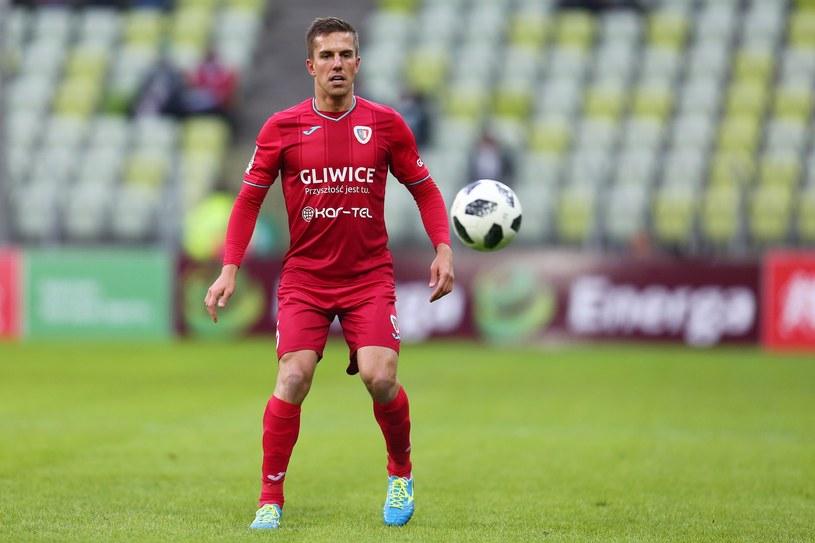 Marcin Pietrowski jest w tym sezonie ważnym piłkarzem Piasta Gliwice /Piotr Matusewicz /East News