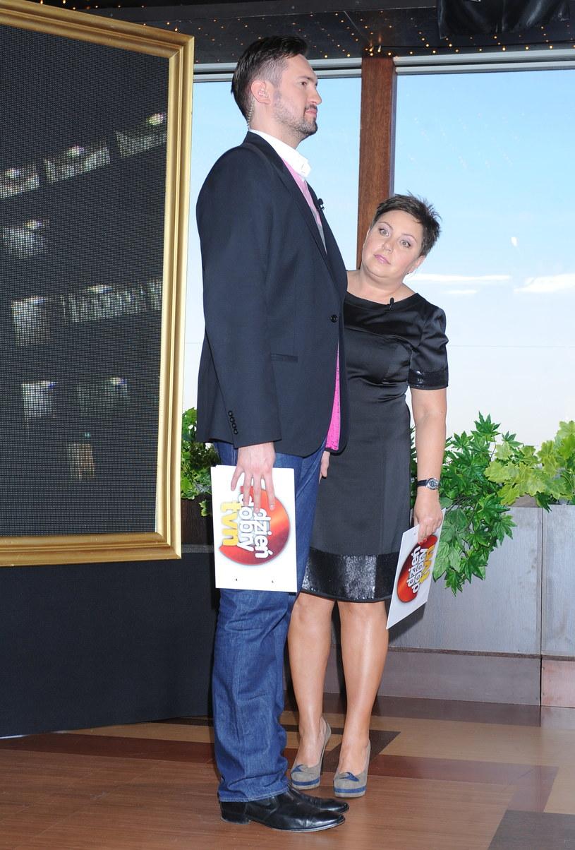 """Marcin Prokop i Dorota Wellman to jeden z duetów prowadzących """"DDTVN"""" /Andras Szilagyi /MWMedia"""