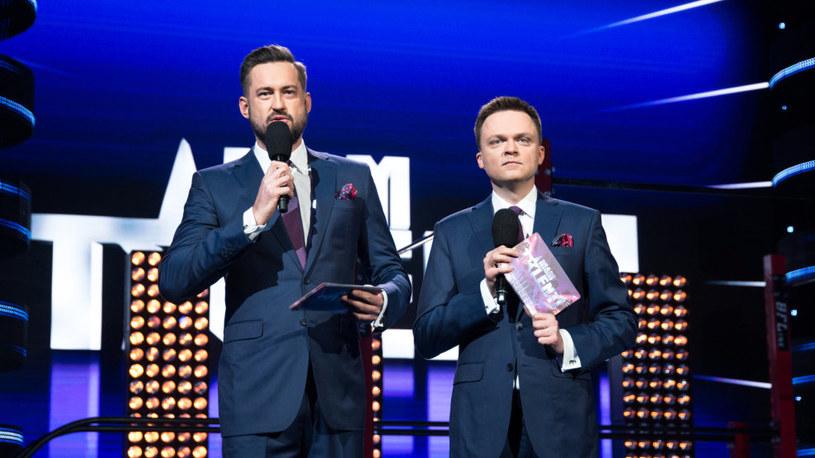 Marcin Prokop i Szymon Hołownia /TVN