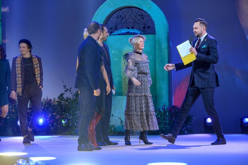 Marcin Prokop podczas ogłoszenia wiosennej ramówki TVN /Jarosław Antoniak /MWMedia