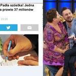 """Marcin Prokop trafił szóstkę w Lotto? """"O mój boże, wygrałem!"""""""