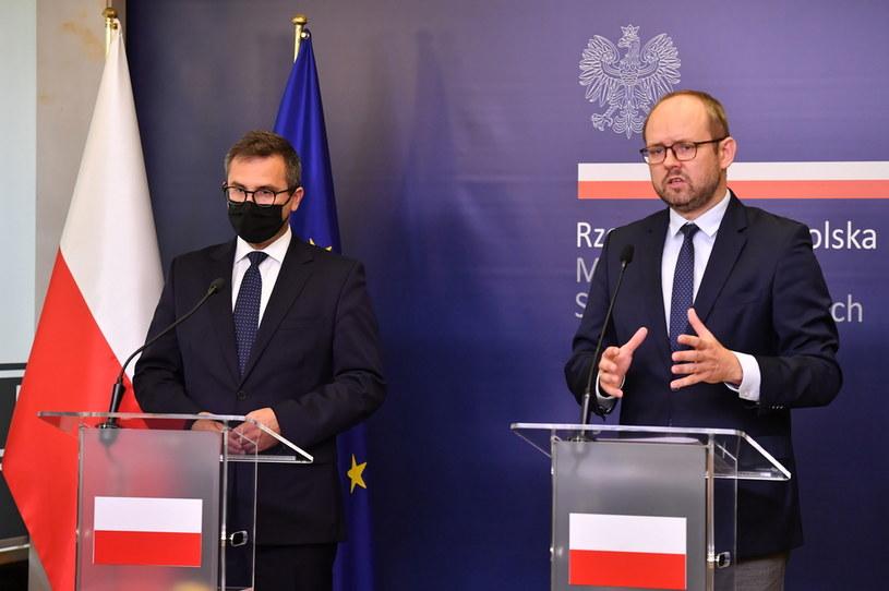 Marcin Przydacz i Michał Kuczmierowski /PAP/Piotr Nowak /PAP