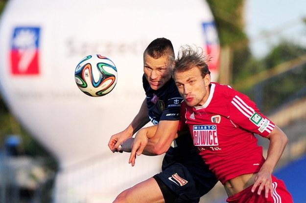 Marcin Robak i Jan Polak /PAP/Marcin Bielecki /PAP