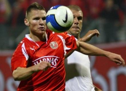 Marcin Robak strzelił swojego 13. gola, fot: Kamil Jóźwiak /Agencja Przegląd Sportowy