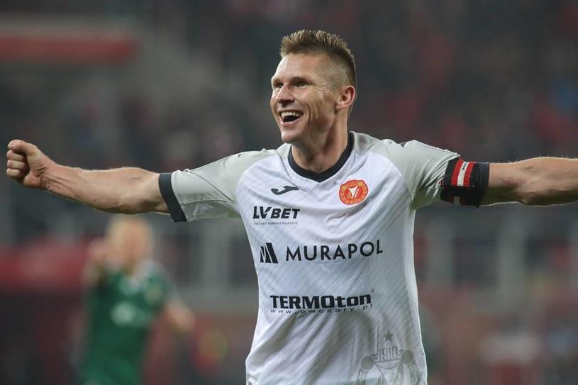 Marcin Robak to największa gwiazda Widzewa i całej 2. Ligi /Marian Zubrzycki /Newspix