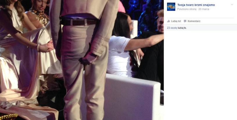 Marcin Rogacewicz ma problem ze spodniami? /Facebook