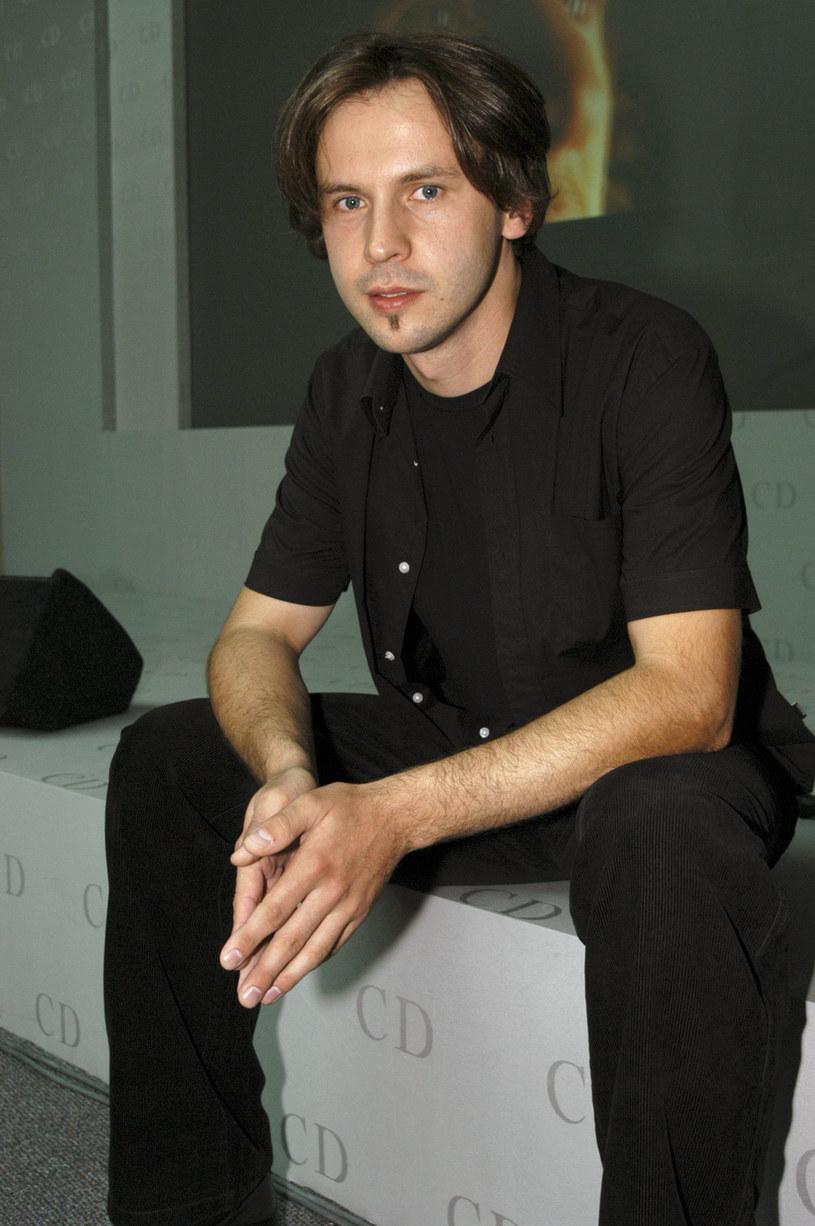 Marcin Rozynek w 2003 r. /AKPA