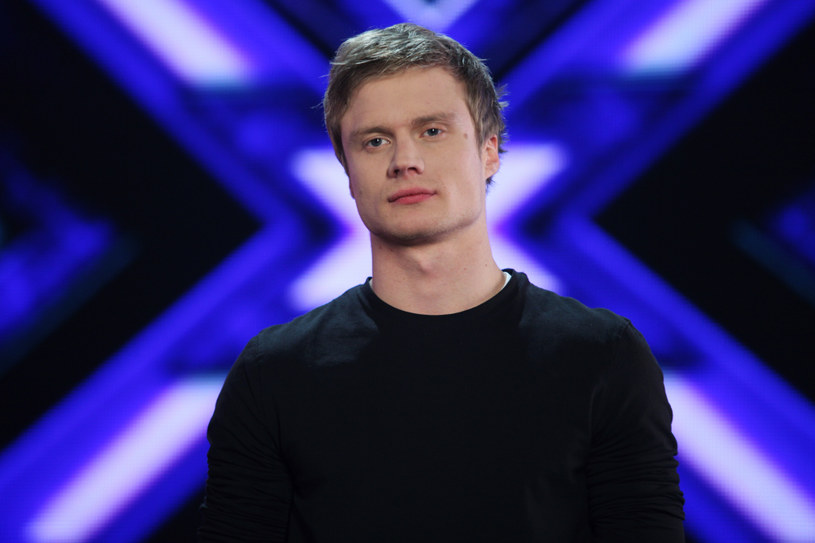 "Marcin Spenner w programie ""X Factor"" /Grzegorz Press /TVN"
