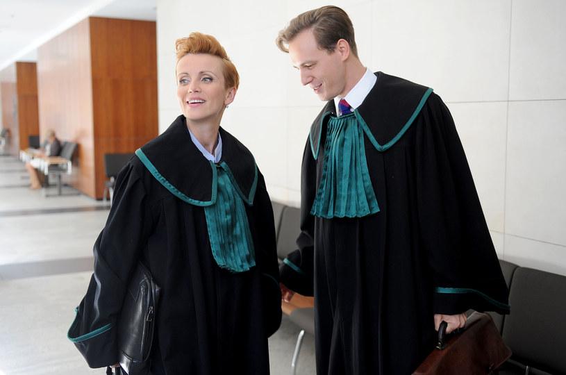 Marcin (Stefan Pawłowski) i Laura (Katarzyna Zielińska) /Agencja W. Impact