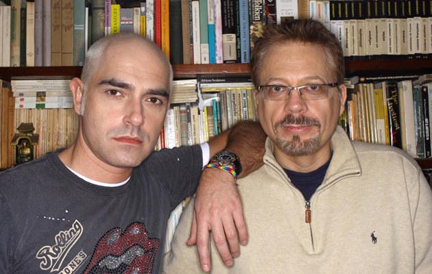 Marcin Szczygielski, Tomasz Raczek /fot.Krzysztof Zuczkowski  /Agencja FORUM