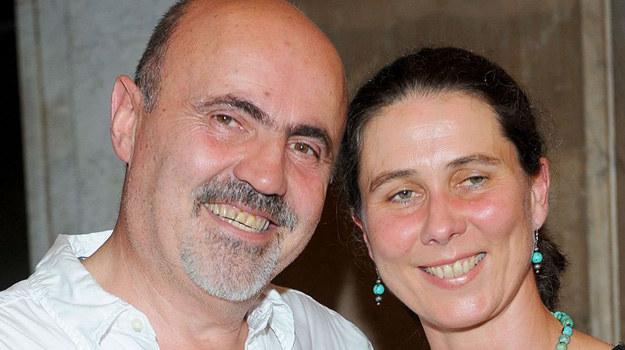 Marcin Troński z żoną Martą /Agencja W. Impact