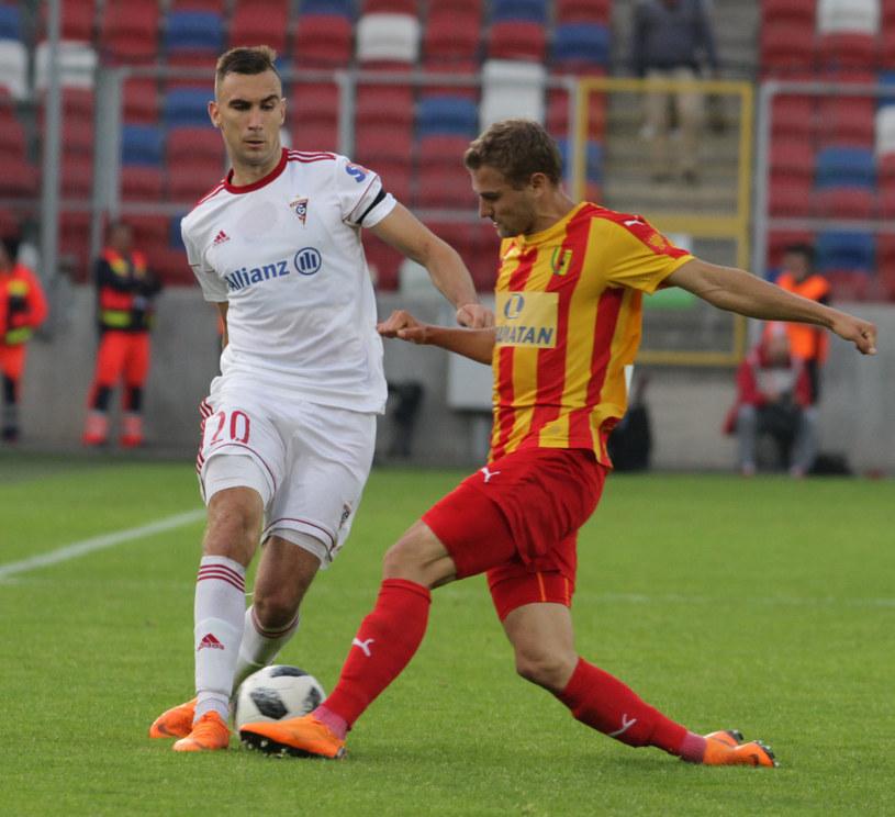 Marcin Urynowicz (z lewej) /Arkadiusz Gola /East News