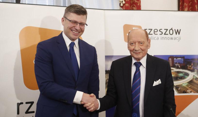 Marcin Warchoł i Tadeusz Ferenc /k_kapica_afk/Polska Press /East News