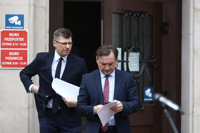 Marcin Warchoł i Zbigniew Ziobro /Piotr Molecki /East News
