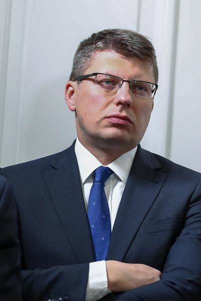 Marcin Warchoł, wiceminister sprawiedliwości. Fot. Andrzej Iwańczuk /Reporter