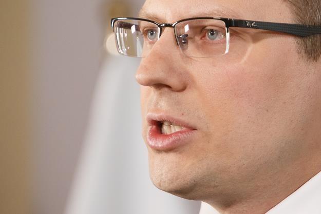 Marcin Warchoł, wiceminister sprawiedliwości. Fot. Krystian Maj /FORUM