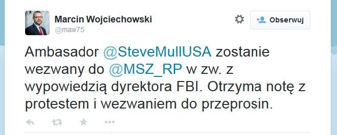 Marcin Wojciechowski /Twitter