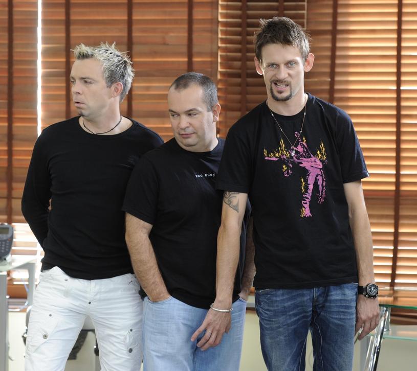 Marcin Wójcik, Waldemar Wilkołek i Michał Wójcik występują wspólnie już od dwudziestu lat /Piotr Bławicki /East News