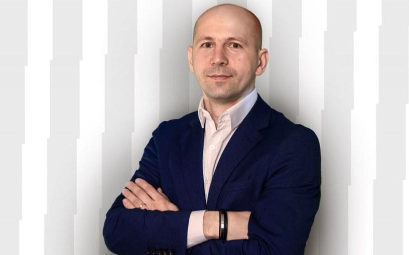 Marcin Wróbel, dyrektor Akademii Lecha Poznań /Przemysław Szyszka / Lech Poznań /materiały prasowe