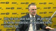 Marcin Zaborski pyta ministra Jarosława Sellina o godło na twitterowej stronie resortu