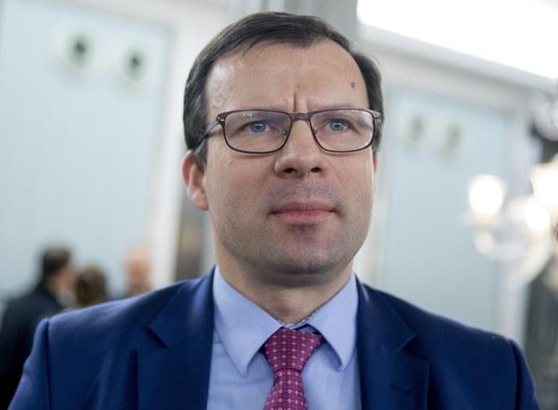 Marcin Zieleniecki, wiceminister rodziny /Andrzej Iwanczuk/ /Reporter