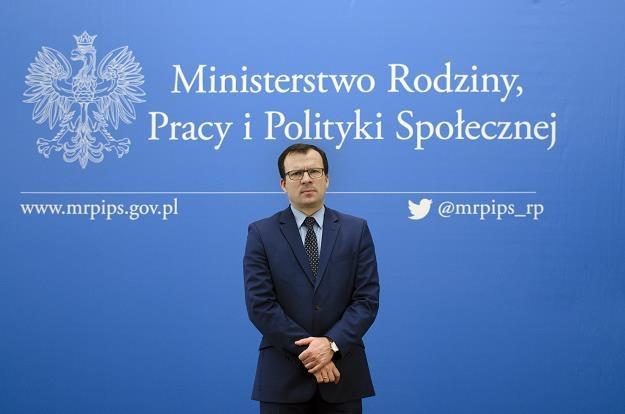 Marcin Zieleniecki, wiceminister rodziny /PAP