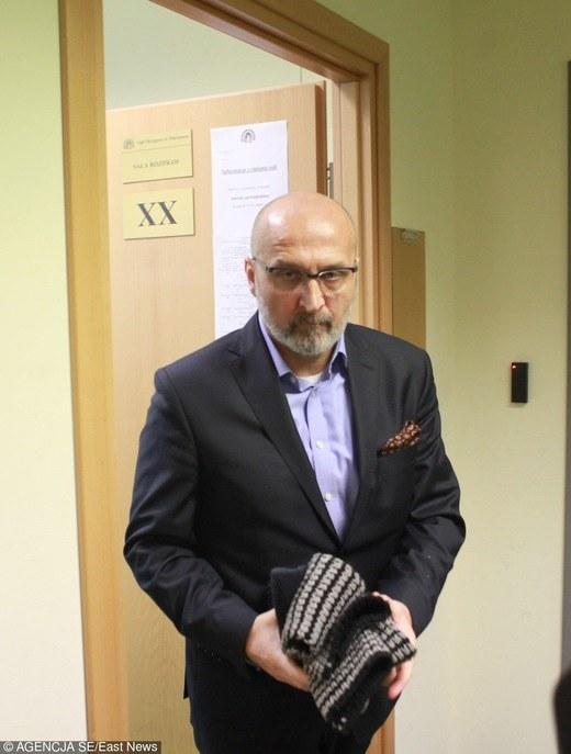 Marcinkiewicz w sądzie /East News