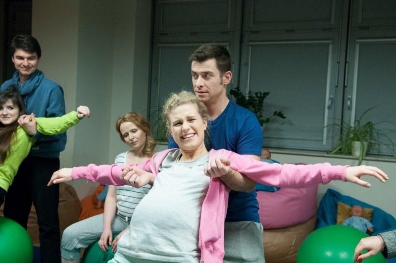 Marcjanna Lelek przyznaje, że bardzo ucieszyła się na wieść, że jej bohaterka zaszła w nieplanowaną ciążę /Agencja W. Impact