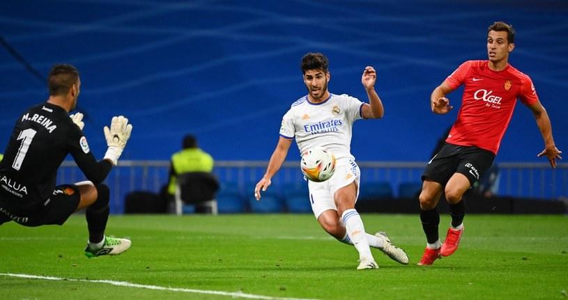 Marco Asensio strzela gola /AFP