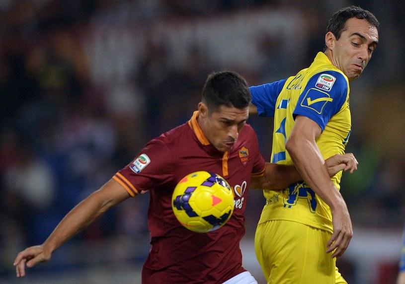 Marco Borriello, piłkarz Romy /AFP