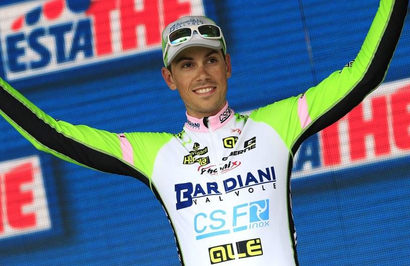 Marco Canola jest liderem wyścigu /AFP