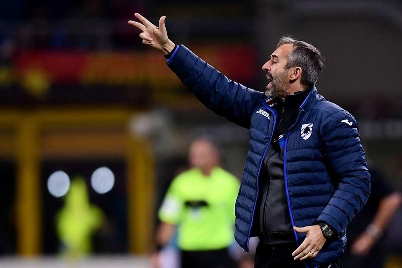 Marco Giampaolo ma pożegnać się z Sampdorią /MARCO BERTORELLO /AFP
