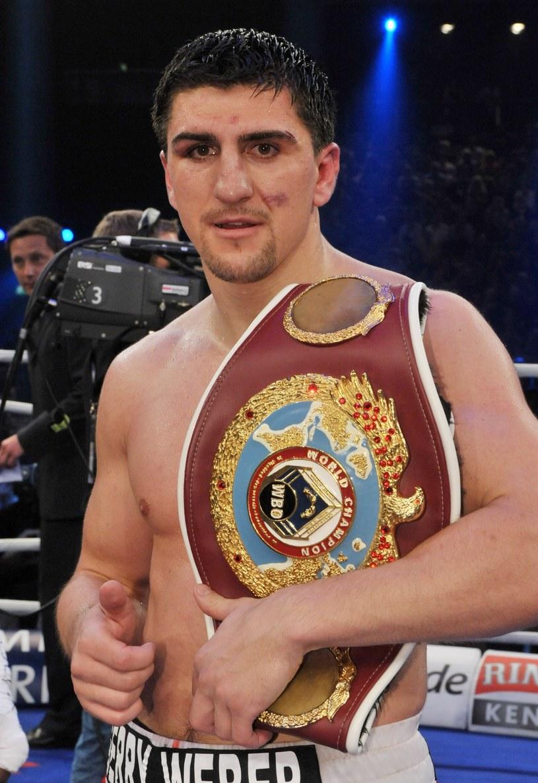 Marco Huck, niemiecki bokser bośniackiego pochodzenia /AFP